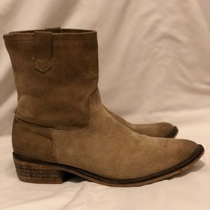 Kidd Suede Ankle Boots